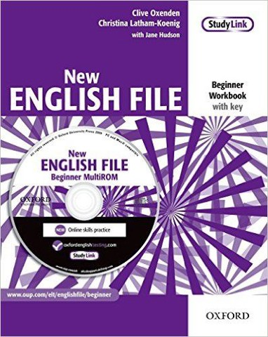 New English File Beg: Workbook with Key Booklet with MultiROM Pack