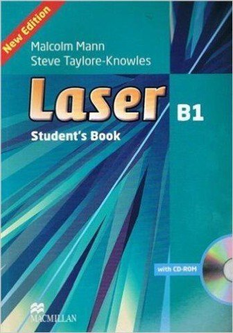 Laser B1 (3 Ed.): Student book with CD-ROM