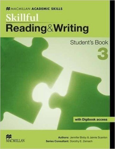 Skillful Reading and Writing 3: Student book with Digibook Pack