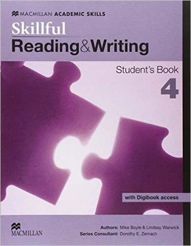 Skillful Reading and Writing 4: Student book with Digibook Pack
