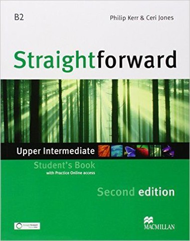 Straightforward (2 Ed.) Upper-Inter: Student Book with Webcode