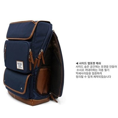 Balo Laptop The Toppu 390 Navy