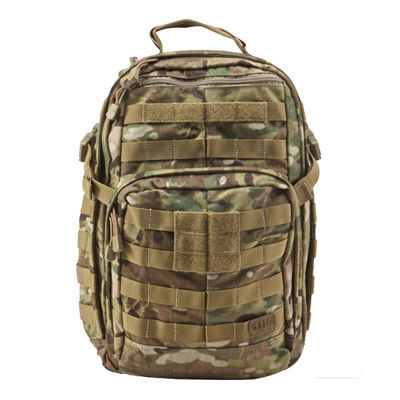 Balo 5.11 Tactical Rush 24 Backpack Multicam