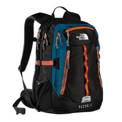 Balo Du Lịch The North Face Surge II Transit Black/Oriole Orange