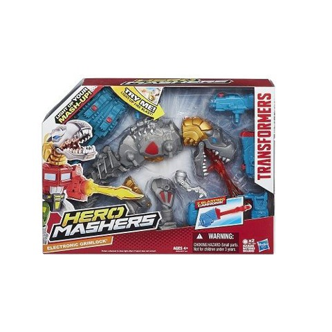 Bộ lắp ráp Transformers Hero Mashers Electronic Grimlock - KN 4160