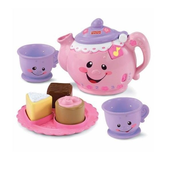 Bộ Tiệc Trà Fisher Price Laugh & Learn Say Please Tea Set - KN 4003
