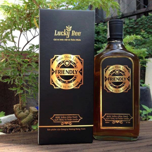 Rượu đinh lăng Friendly 650ml
