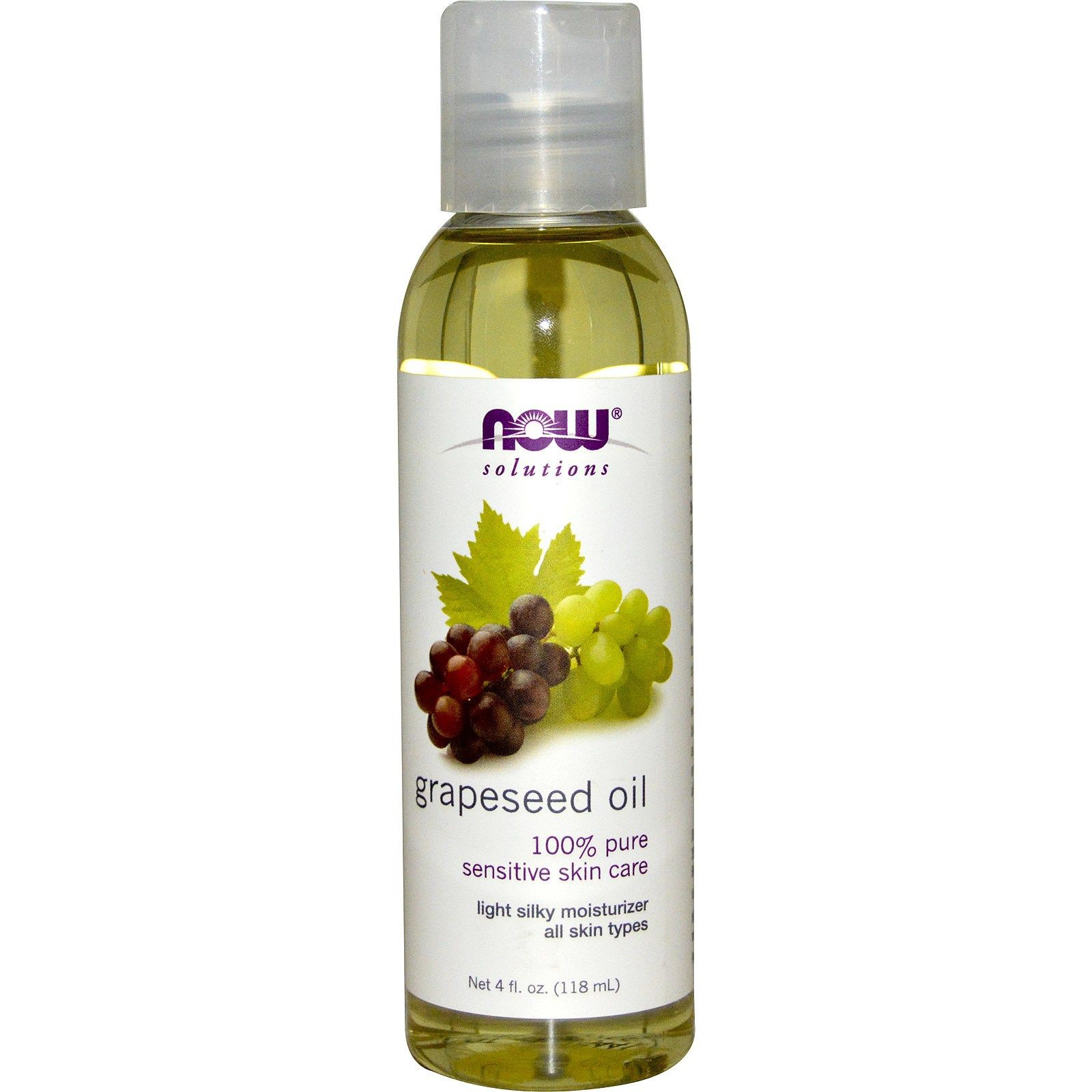 Dầu hạt nho Now Foods, Grapeseed Oil