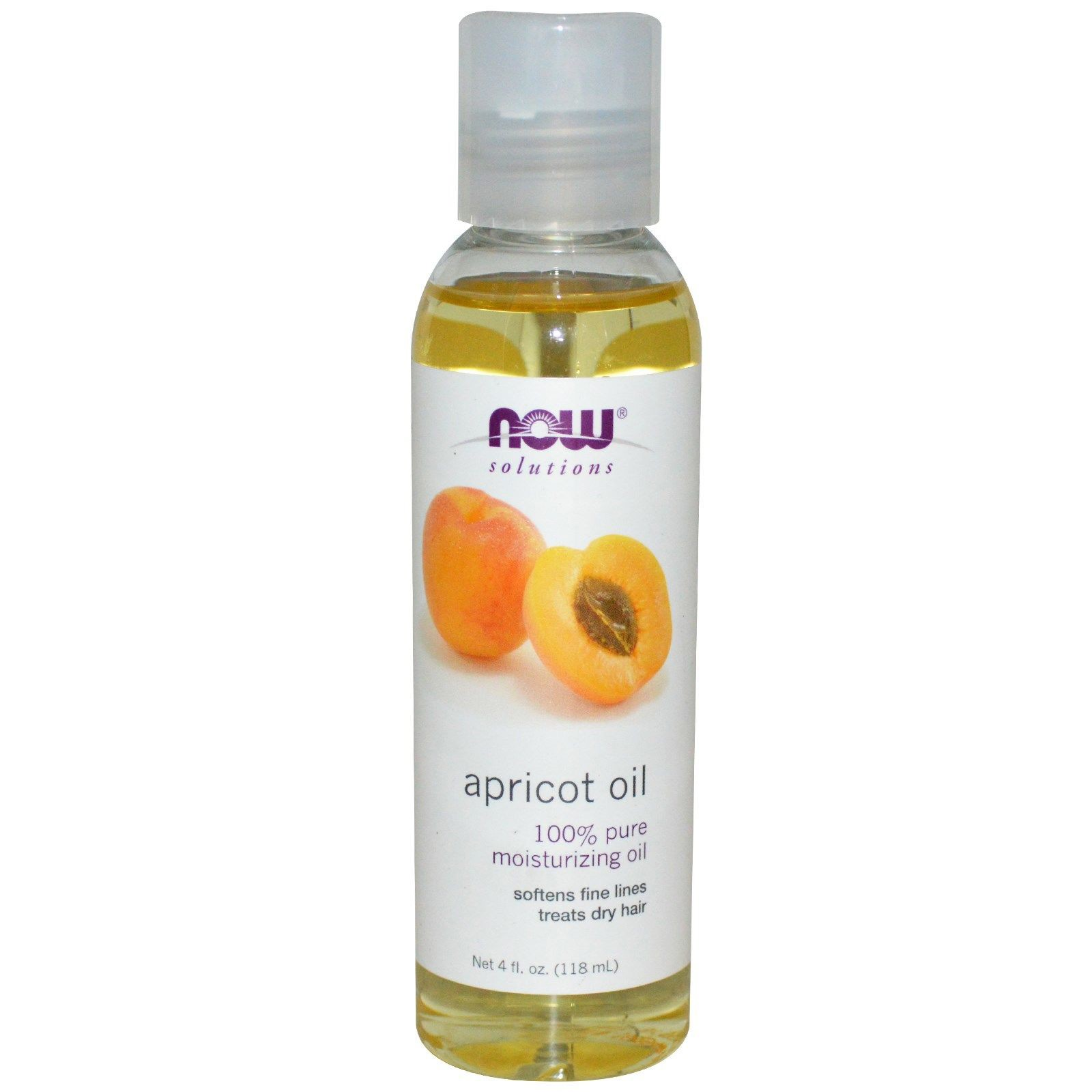 Tinh dầu quả mơ NOW Foods Solutions Apricot Oil - 118 ml