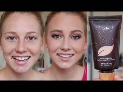 Amazonian clay 12-hour full coverage foundation SPF 15