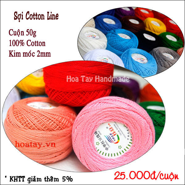 Sợi Cotton Line