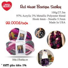 Red Heart Boutique Sashay