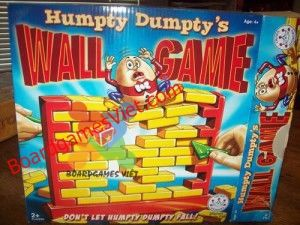 Humpty Dumpty's Wall Game Board Game
