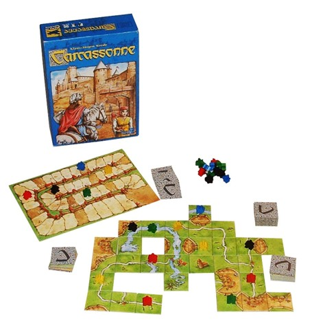 Carcassonne Board game - Xây dựng lãnh thổ