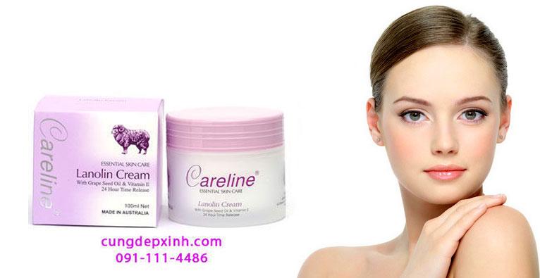 Kem cừu careline lanolin cream dưỡng ẩm Úc - 135k/ hộp