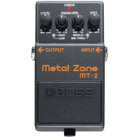 BOSS MT2 METAL ZONE GUITAR EFFECTS PEDAL