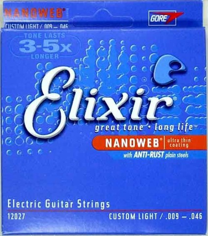 ELIXIR 3313212027 ELETRIC GUITAR STRINGS