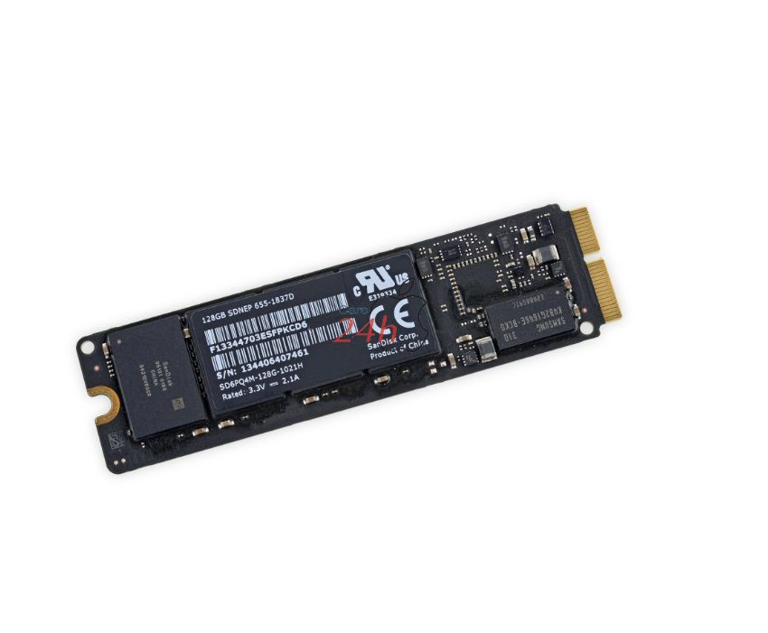 Thay ổ cứng SSD Macbook Retina 15 inch