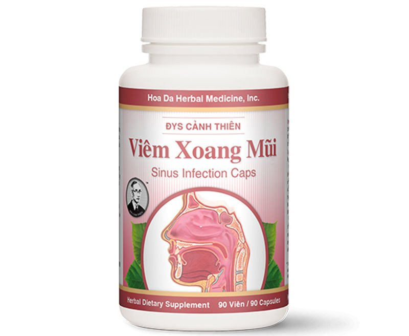 Viêm Xoang Mũi (Sinus Infection Caps)