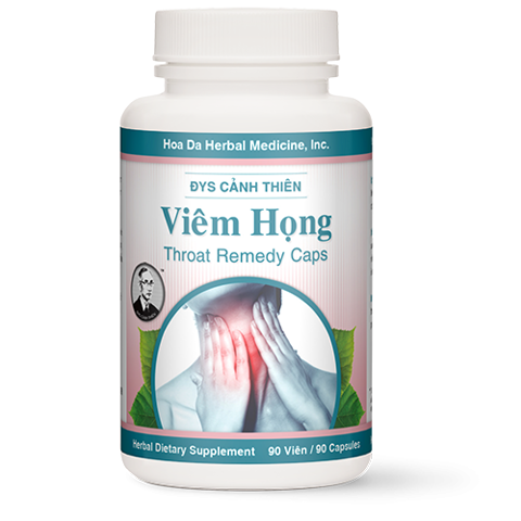 Viêm Họng (Throat Remedy Caps)