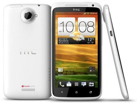 HTC One X - Trắng