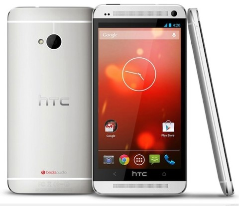HTC One M7 - Silver