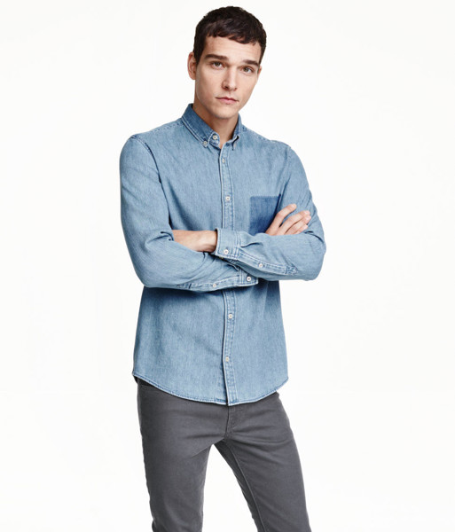 Denim slim fit H&M