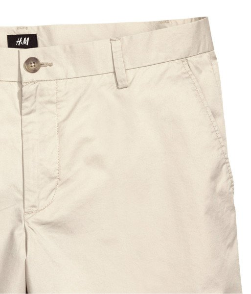 Cotton Shorts Slim fit