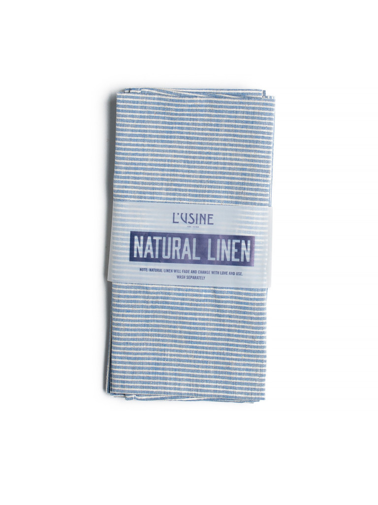 Napkin In Blue Stripe