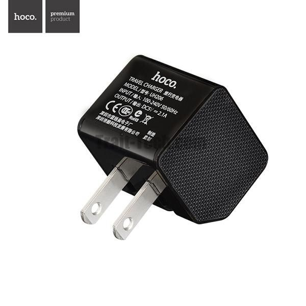 Sạc HOCO 2 cổng UH206 ( UH206 Square Double USB Smart charger )