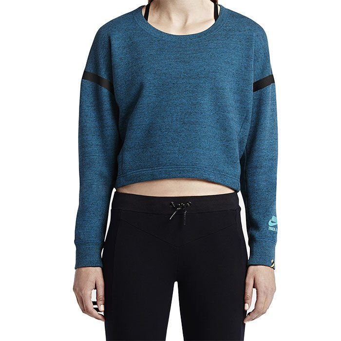 Sneaker.vn - 687608-482 - Nike Track And Field Cropped Crew - 2159000
