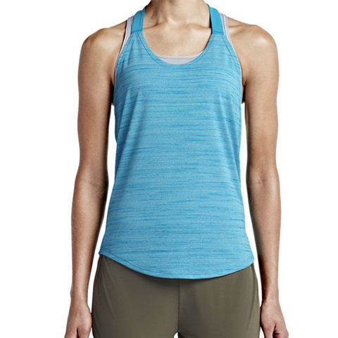 Sneaker.vn - 727748-437 - Nike Elastika Heather Women's Training Tank Top - 1074000