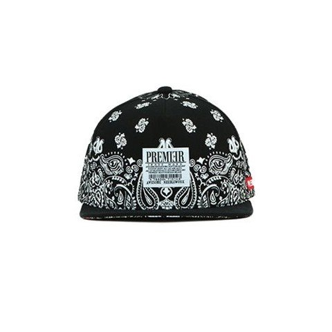 Sneaker.vn - Nón Snapback P265 SNOW PAISELY/BK.WH