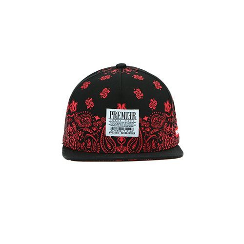 Sneaker.vn - Nón Snapback P268 SNOW PAISELY/BK.RED
