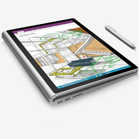 Microsoft Surface Book Core I5 6300U 2.3G, RAM 4G, 128G SSD, 13.5'QHD, Win 10 Pro