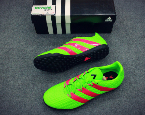 ADIDAS ACE 16.4 TF SOLAR GREEN/SHOCK PINK