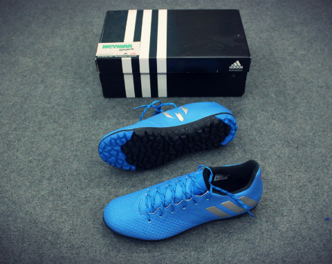 ADIDAS MESSI 16.3 TF SHOCK BLUE