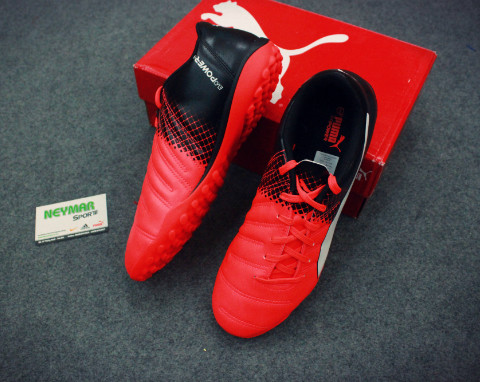 PUMA EVOPOWER 4.3 TF RED BLASH/WHITE/BLACK