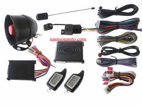 Two way car alarm system