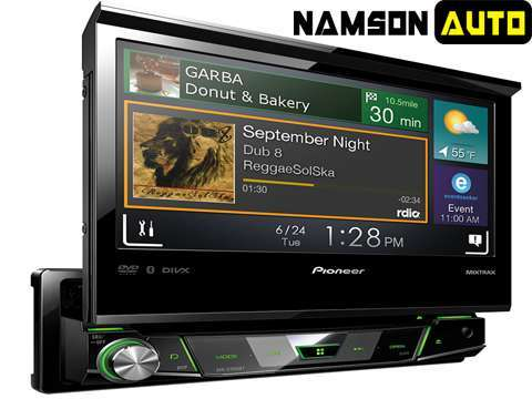u dvd pioneer avh x7800bt nam s n auto. Black Bedroom Furniture Sets. Home Design Ideas