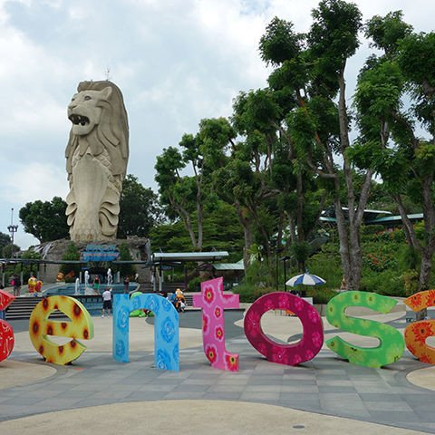 Tour Singapore 4N3đ:  Đảo Sentosa - Sea Aquarium