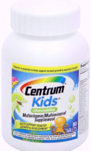 Centrum Kids Multivitamin - Hộp 80 viên