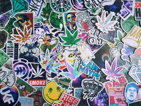 Get High Stickers