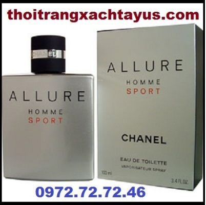 "NH 02 f - NƯỚC HOA "" CHANEL ALLURE SPORT "" 100 ml / made in FRANCE"