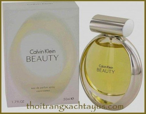 "NH 28 - NƯỚC HOA "" Calvin Klein BEAUTY ""  Eau de parfum 50ml /made in france"