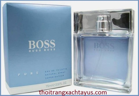 "NH 61 - NƯỚC HOA HIỆU "" HUGO BOSS - PURE "" EDT 75ml / made in UK"