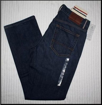 "QN 22 - QUẦN JEAN "" TOMMY HILFIGER _ SIZE 31, 32, 33/ ống xuông, rộng (made in mexico)"