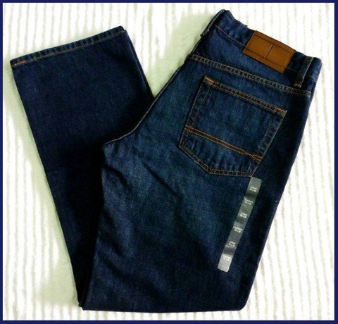 "QN 30 - QUẦN JEAN NAM HIỆU "" TOMMY "" form classic- size 31_32 ""made in mexico"""