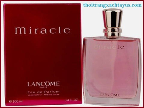 "NH 05 c - NƯỚC HOA HIỆU "" LANCÔME  MIRACLE "" 100ml / made in france"