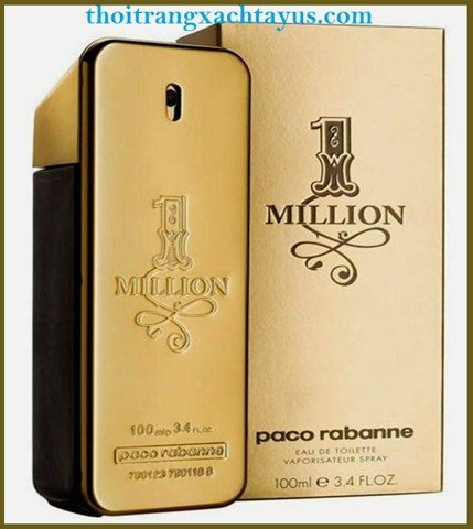 "NH 58 - NƯỚC HOA HIỆU "" PACO RABANNE 1 Million  "" 100ml / made in france"
